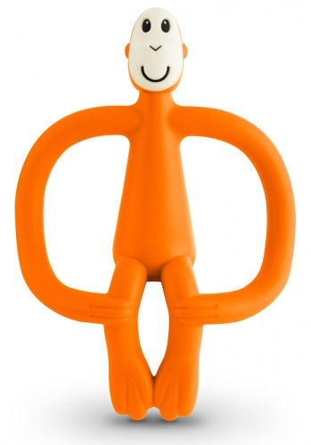 Matchstick Monkey Teething Toy 3m+ Orange