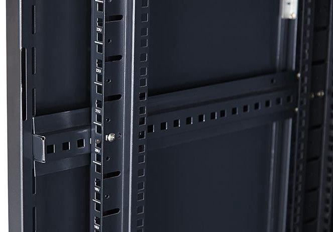 Netrack Standing Cabinet 42U/600x1000mm Glass Black