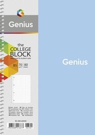 Vihik Genius B5-080-6800K, ruuduline, B5, 80 lehte