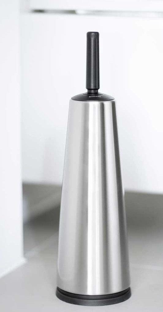 Brabantia Toilet Brush.Brabantia 385285 Toilet Brush And Holder Matt Steel