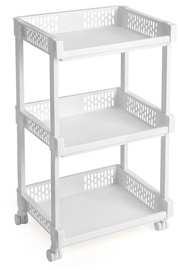 Songmics Storage Rack White 36.5x61cm