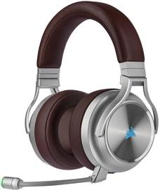 Belaidės ausinės Corsair Virtuoso RGB, rudos