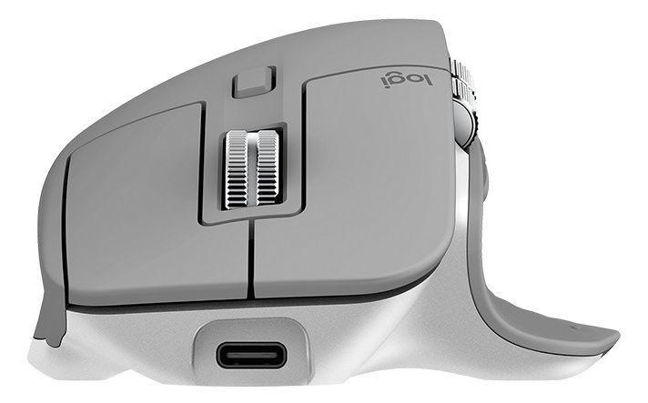 Logitech MX Master 3 Advanced Wireless Mouse Mid Grey
