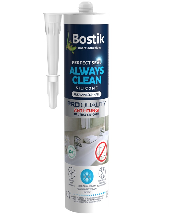 Hermetikas Always Clean Bostik 280 ml pilkas