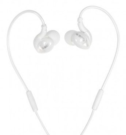 Ausinės iBOX S1 Sport Audio Mobile Headphones White