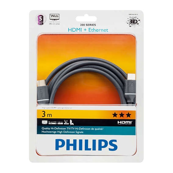 Kaabel hdmi 3m Philips SWV4433S/10
