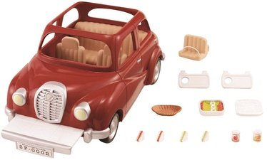 Epoch Sylvanian Families Red Saloon Car 2002