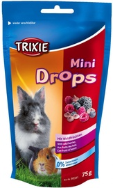 Trixie Mini Drops With Wild Berries 75g