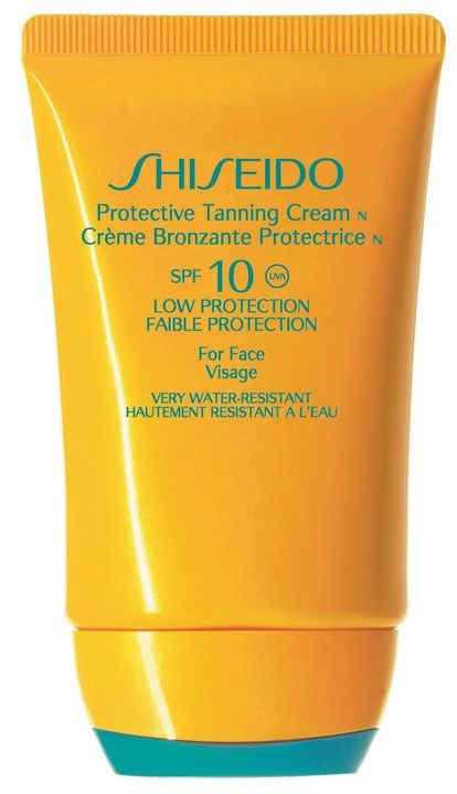 Shiseido Protective Tanning Cream N For Face SPF10 50ml