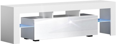 TV galds Pro Meble Milano 160 White, 1600x350x450 mm