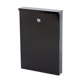 Pašto dėžutė Glori Ir Ko PD955 Black, 240x55x355 mm
