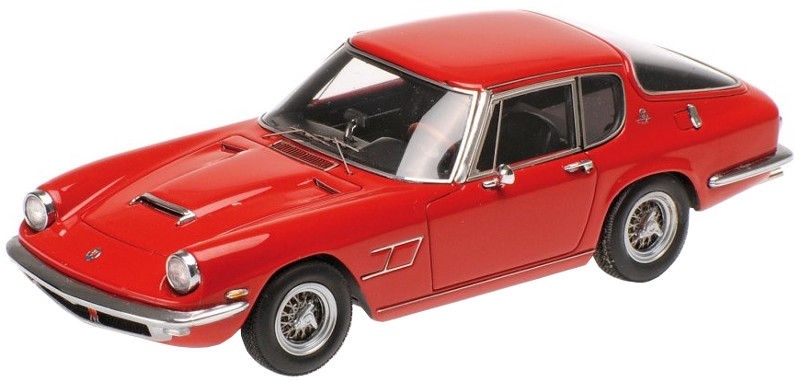Minichamps Maserati Mistral Coupe 1963 Red