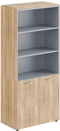 Skyland Office Cabinet With Lock DHC 85.5 Sonoma Oak 892х470х1950