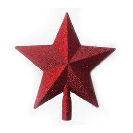 Eglīšu galotne Christmas Touch SYCD17-054 Red, 230 mm, 1 gab.