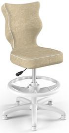 Детский стул Entelo Petit HC+F Size 3 VS26, белый/кремовый, 300 мм x 895 мм