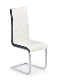 Стул для столовой Halmar K132 White/Black