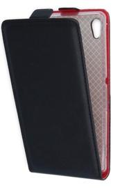 GreenGo Sligo Vertical Flip Case For Huawei P8 Black/Red