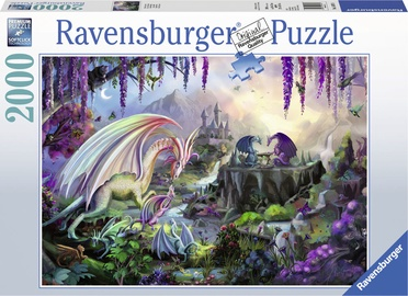 Dėlionė Ravensburger Dragon Valley 167074, 2000 dalių