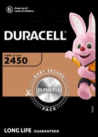 Duracell Long Lasting Power Lithium Tablet Battery CR2450