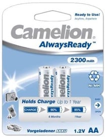 Camelion AlwaysReady Rechargeable Batteries Ni-MH (R06) 2x AA 2300mAh