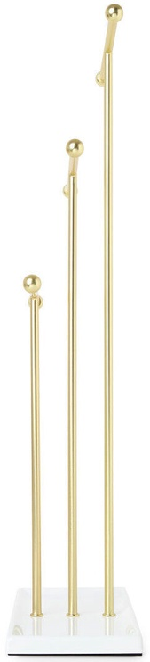 Стойка Umbra Trigem Jewelry Stand White Brass