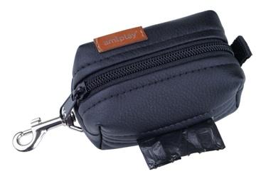 Amiplay Lincoln Waste Bags Dispenser Black 9x5x4cm