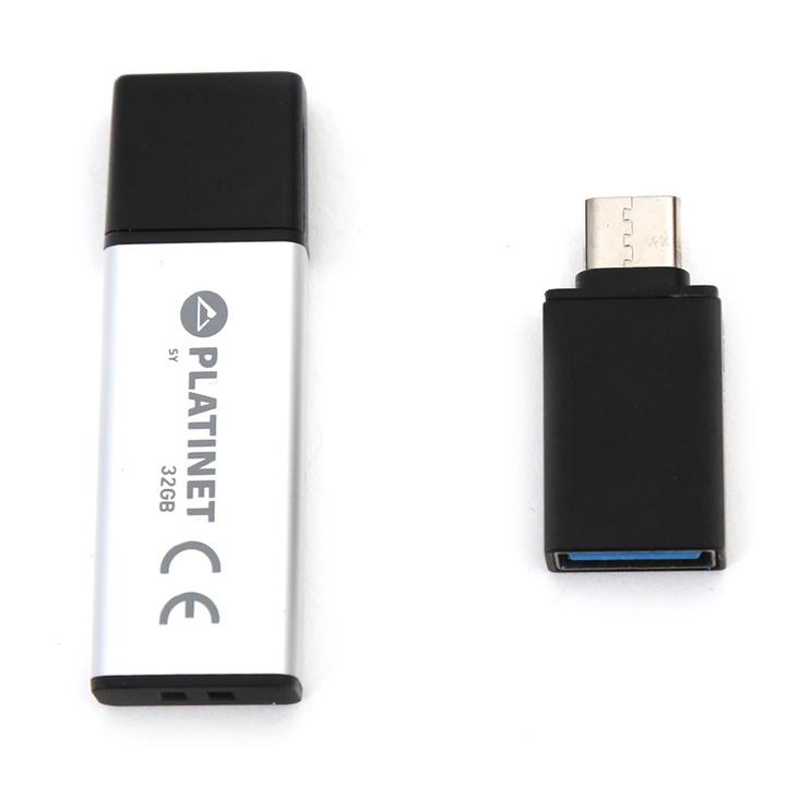 USB atmintinė Platinet 43996 USB 2.0, 32 GB