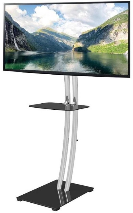 Techly Floor Stand TV/LCD 32 - 70'' Black