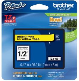 Этикет-лента для принтеров Brother TZ-E631, 800 см