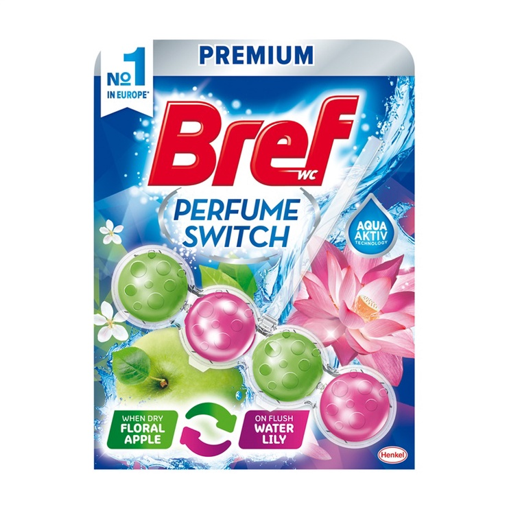 BREF WC PA 50G FLORAL APPLE-WATER LILY