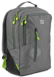Spokey Backpack Lary 921910 Grey/Green