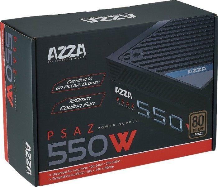 AZZA PSAZ (NEW) PSU 550W