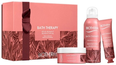 Biotherm Bath Therapy Relaxing Blend Body Cream 200ml + 200ml Cleansing Foam + 30ml Hand Cream
