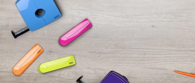 Novus B2 Desktop Stapler Color ID Purple