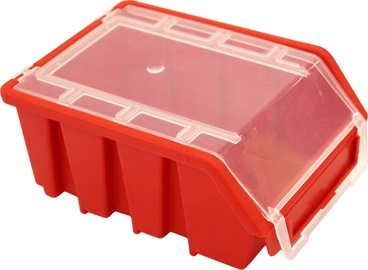 Patrol Ergobox 2 With Lid Red