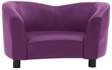 Dzīvnieku gulta VLX Dog Bed, violeta, 670 mm x 410 mm