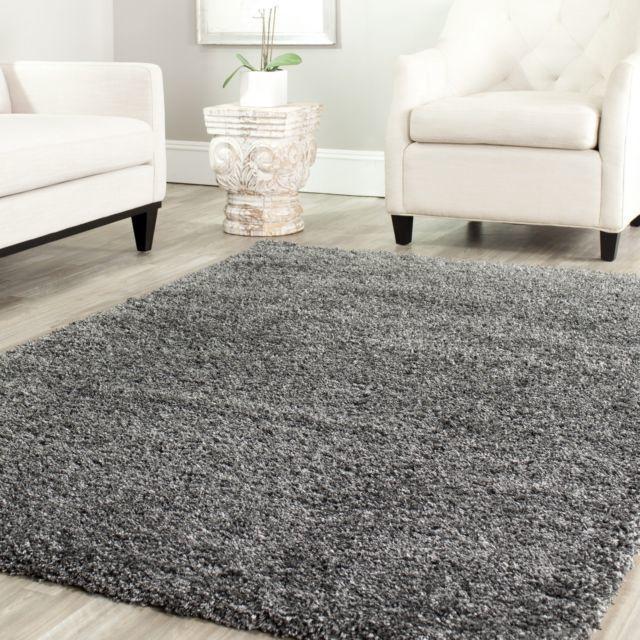 Ковер The Rugsmith Solid shaggy carpet RSS 0017, серый, 240x160 см