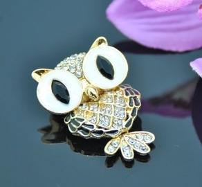 Vincento Brooch With Zirconium Crystal LD-1006