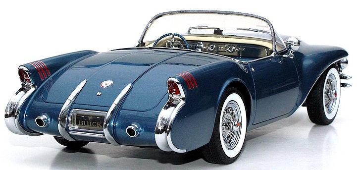Minichamps Buick Wildcat II Concept 1954 Blue