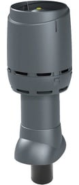 Vilpe Flow 110P/IS/350 Insulated Ventilation Outlet Gray