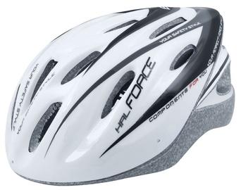 Шлем Force HAL F902488, белый/черный, L/XL, 580 - 630 мм