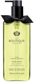 The English Bathing Company Boutique Hand Wash 500ml Lime & Orange Blossom