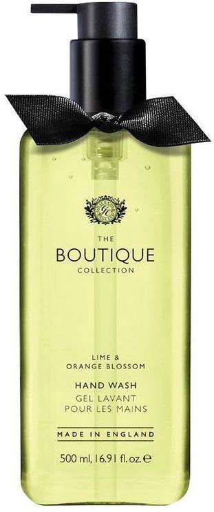 The English Bathing Company Boutique Hand Wash 500ml Lime & Orange Blossom