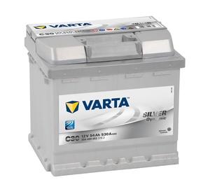 Akumuliatorius Varta SD C30, 54 Ah, 530 A, 12 V
