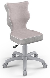 Детский стул Entelo Petit CR08, розовый/серый, 350 мм x 830 мм
