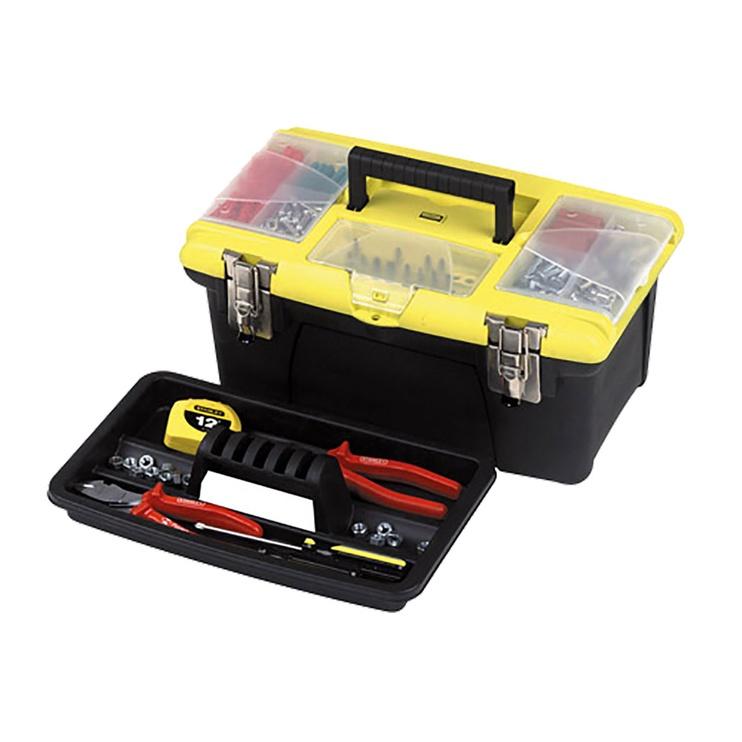"Stanley Jumbo Tool Box 16"""