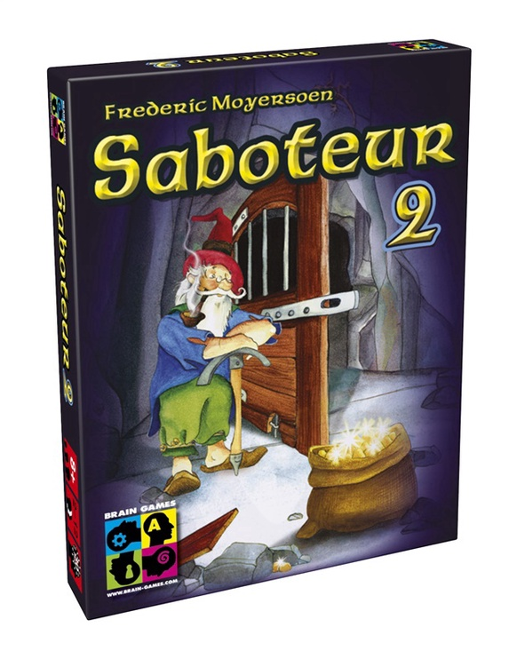 Stalo žaidimas Brain Games, Saboteur 2