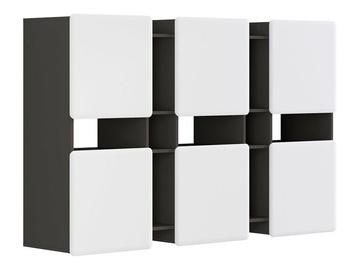 Seinariiul Black Red White Possi, hall, 180x42x115 cm
