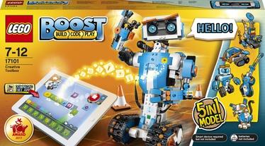 Konstruktor LEGO Boost Loovust arendav tööriistakomplekt 17101, 847 tk