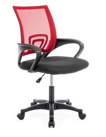 Офисный стул Top E Shop Moris, черный/красный